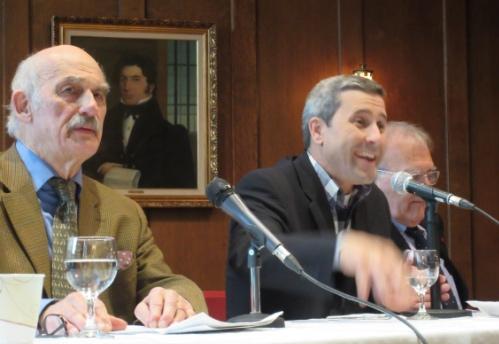 De g. à d. Robert Bouthillier, Jean-François Simard et Jean-Paul Bled