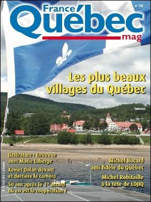 France-Québec, les plus beaux villages du Québec.