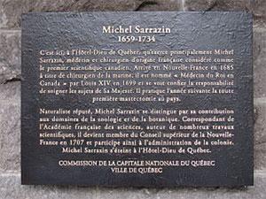 Michel Sarrazin - Plaque commémorative