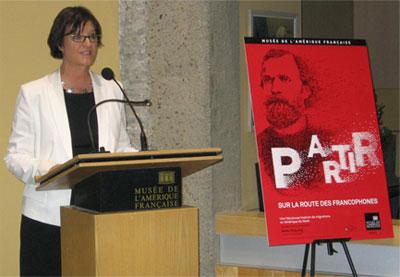 Danielle Poiré, directrice générale par intérim du Musée de la civilisation