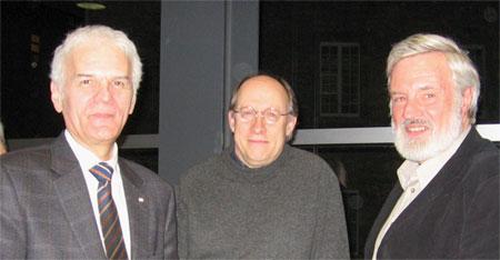 François Tremblay, Michel Baril et André Dorval