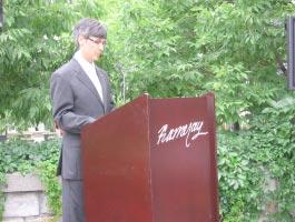 André J. Delisle, directeur général et conservateur