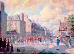 La capitulation de Montréal le 8 septembre 1760 reproduit du livre Combattre pour la France en Amérique, SGCF, 2009, p. 160