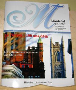 Revue de la Société historique de Montréal, no 61, automne 2010