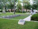 Cimetière de l'Hôpital-Général de Québec – Mémorial de la guerre de Sept Ans.
