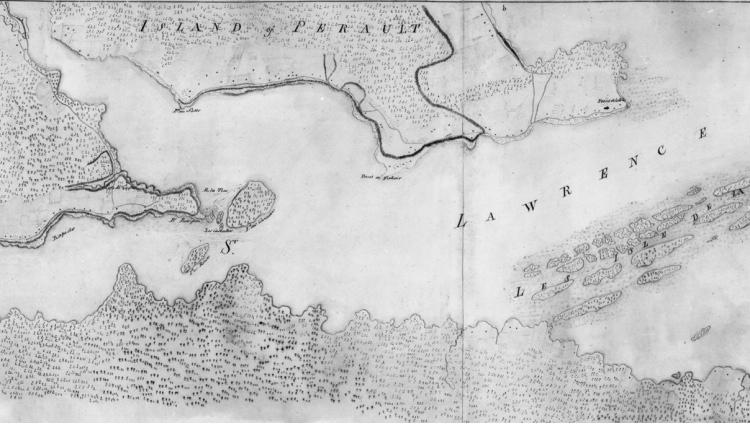 La seigneurie de Villechauve (Beauharnois) en 1761.