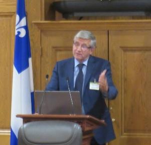 Bilan du Forum tracé par Denis Monière.