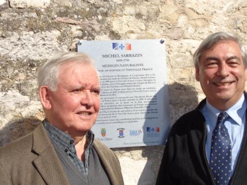 De g. à d. Gilbert Pilleul et Denis Racine